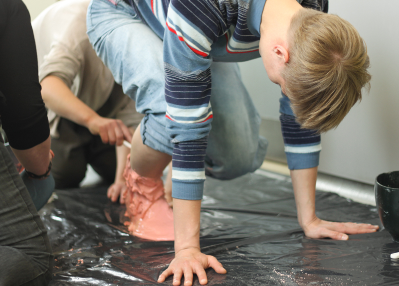 Casting the Foot of Helka Kaski3